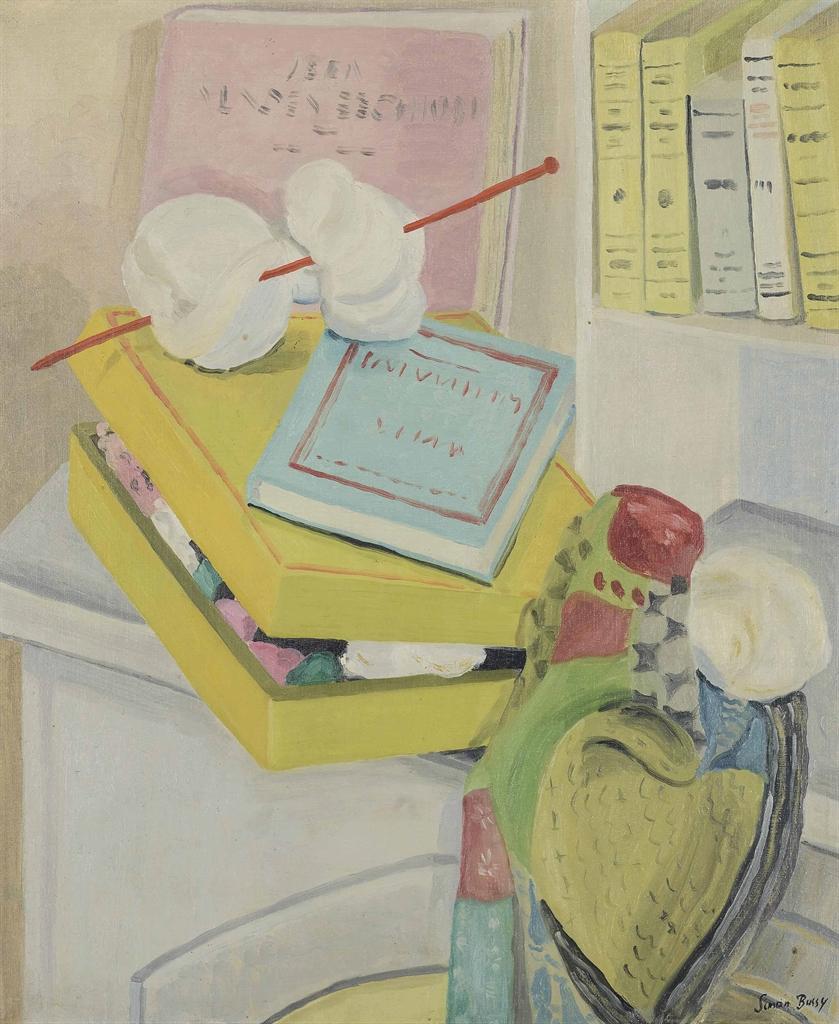 Simon Albert Bussy-The knitting needle-