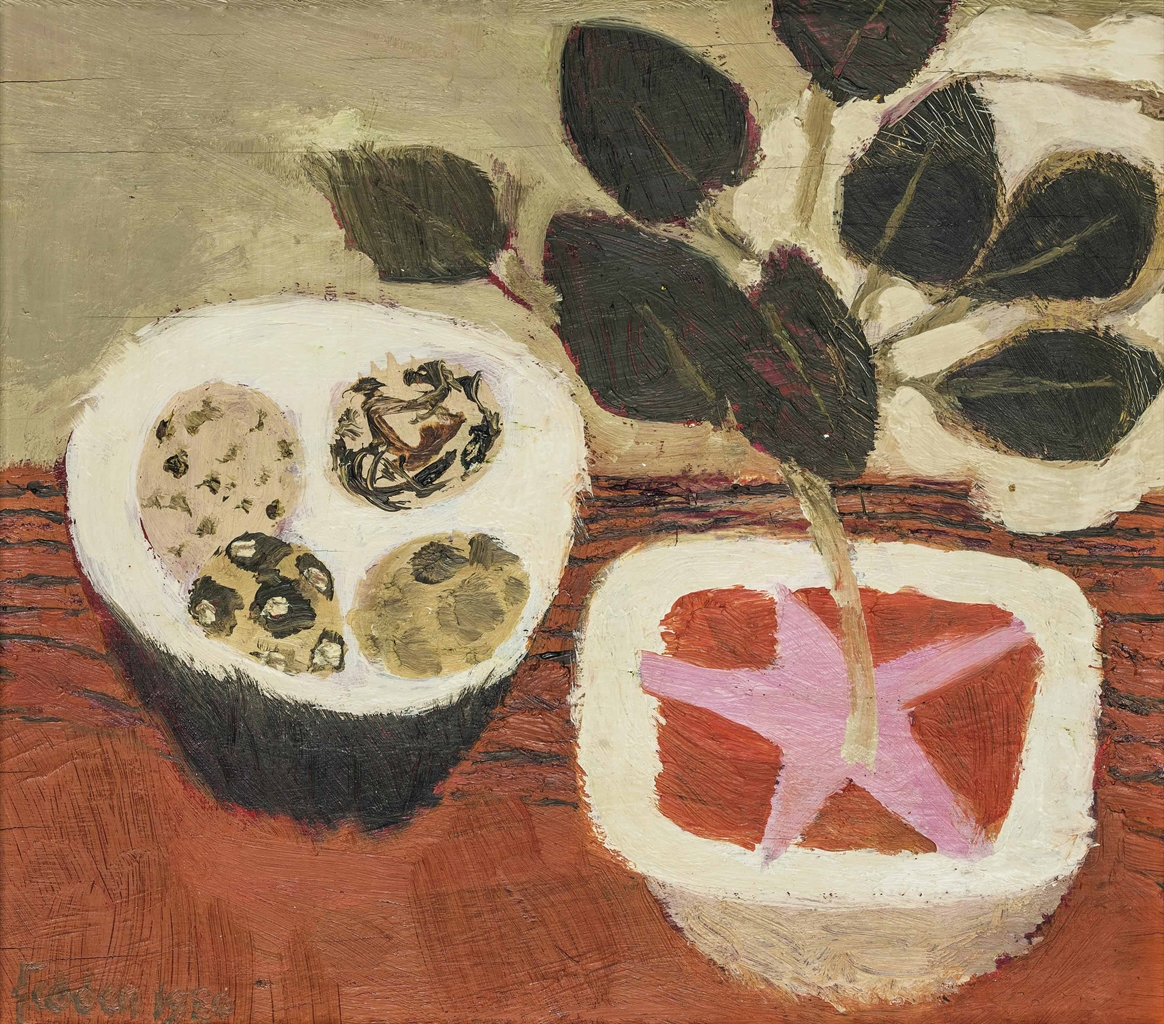 Mary Fedden-Bowl of Eggs-1980
