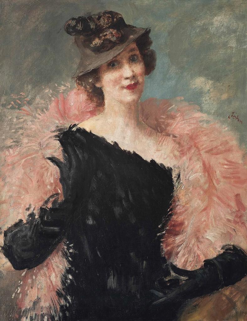 Augustus Edwin John-Elizabeth Arden-1930