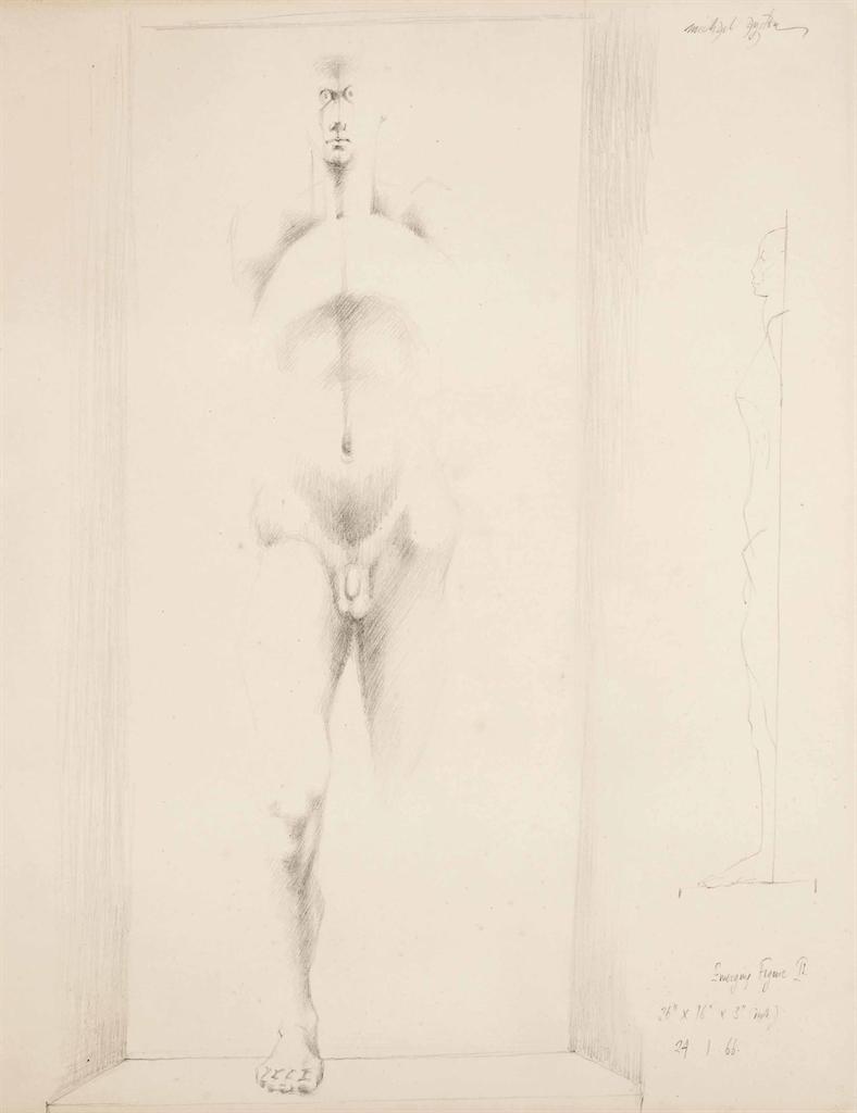 Michael Ayrton-Emerging Figure II-1966