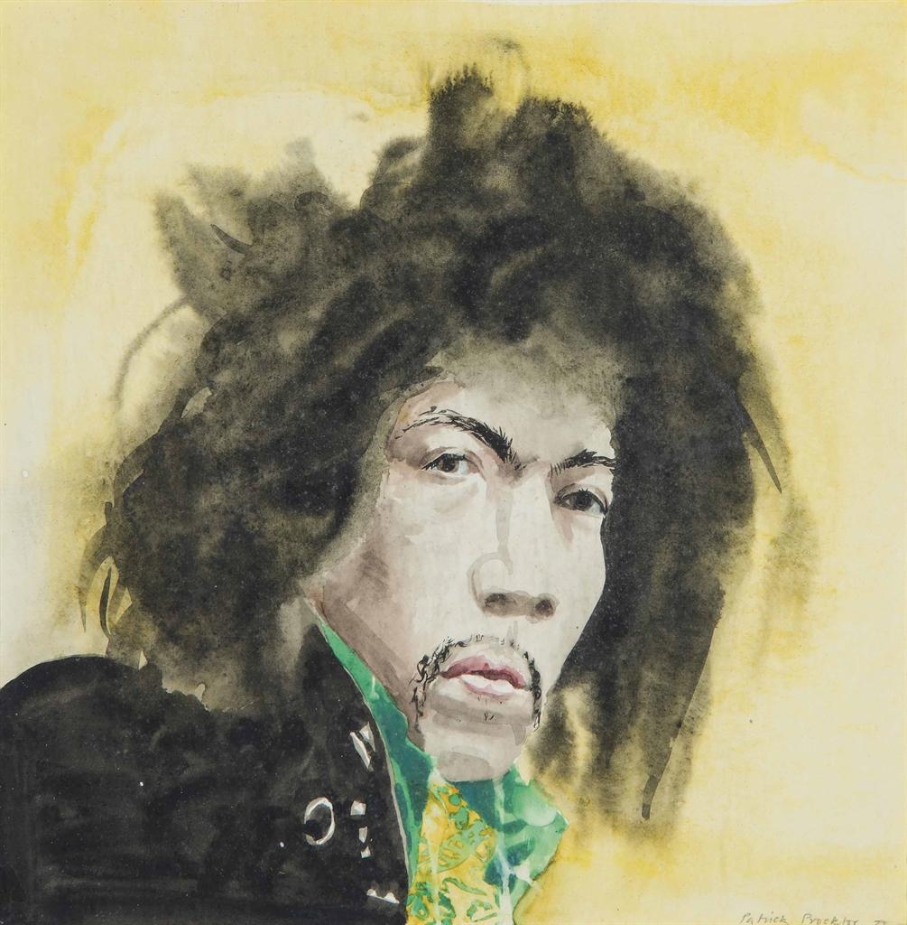 Patrick Procktor-Jimi Hendrix-1973