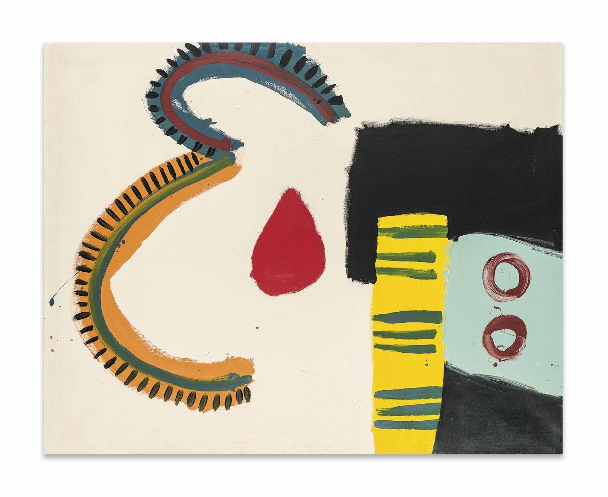 Alan Davie-Parrot grip No. 5-1960
