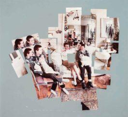 David Hockney-George, Blanche, Celia, Albert and Percy, London-1983