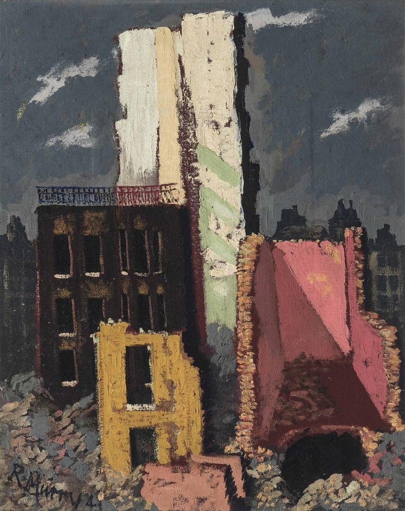 Richard Murry-Will Peace Look Better?-1941