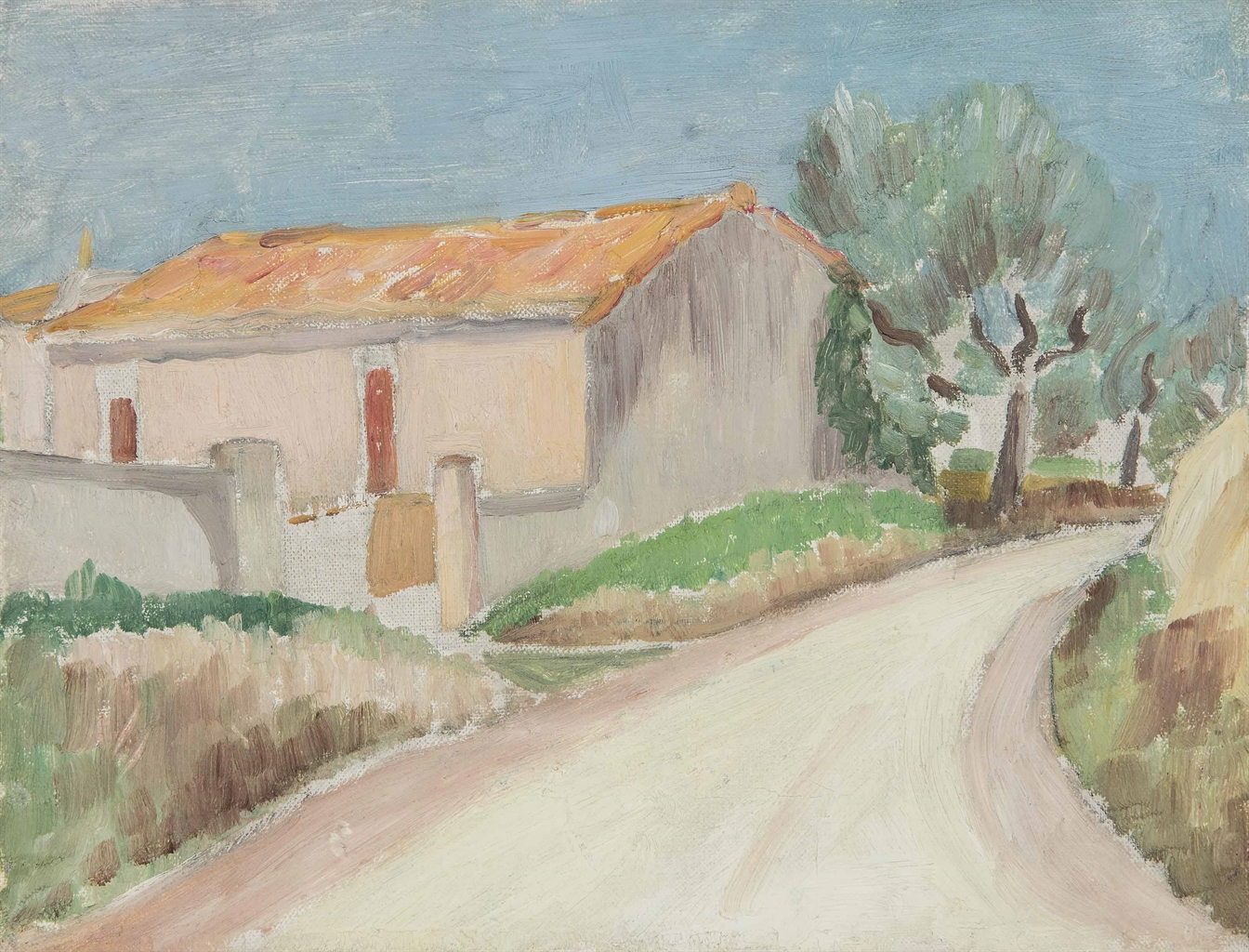 Henry Lamb-Martigues, South of France-