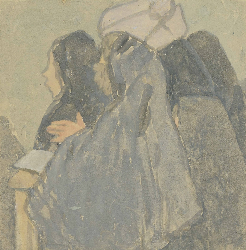 Gwen John-Women at prayer-1928