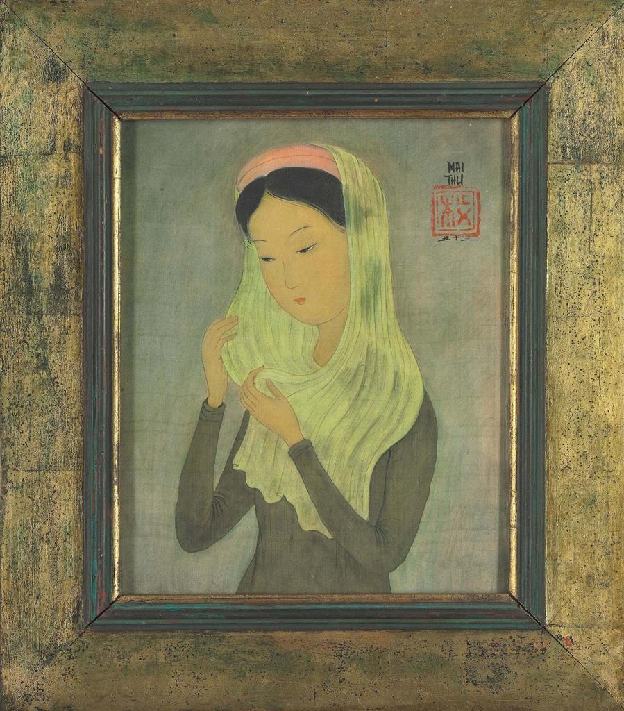 Mai Trung Thu-Woman With Veil-1953