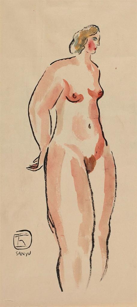 Sanyu-Nu Debout (Standing Nude)-1930