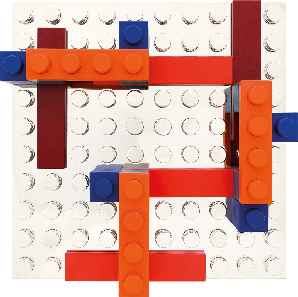 Matteo Negri-L'Ego Mondrian - Orange Bridge-2014
