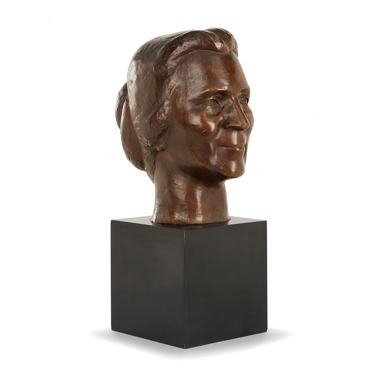 Chana Orloff-Portrait De Madame Marc Jarblum-1944