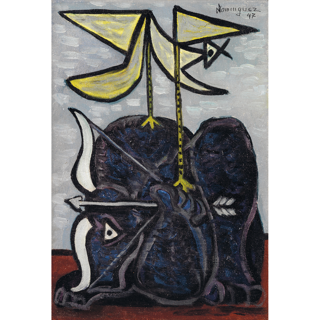 Oscar Dominguez-Le Taureau Archer-1947