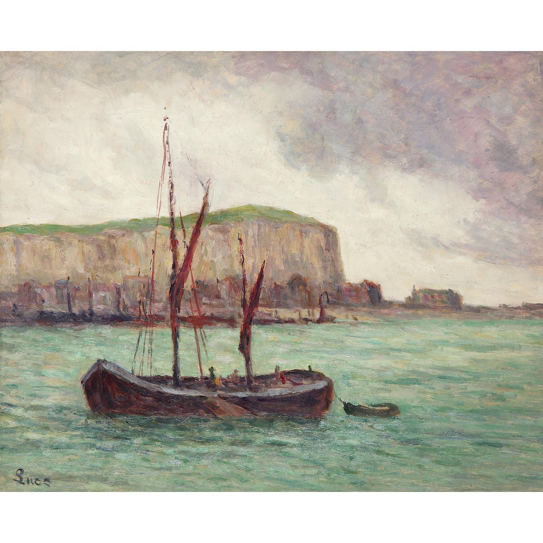 Maximilien Luce-Bateau De Peche, Le Treport, Vers-1934