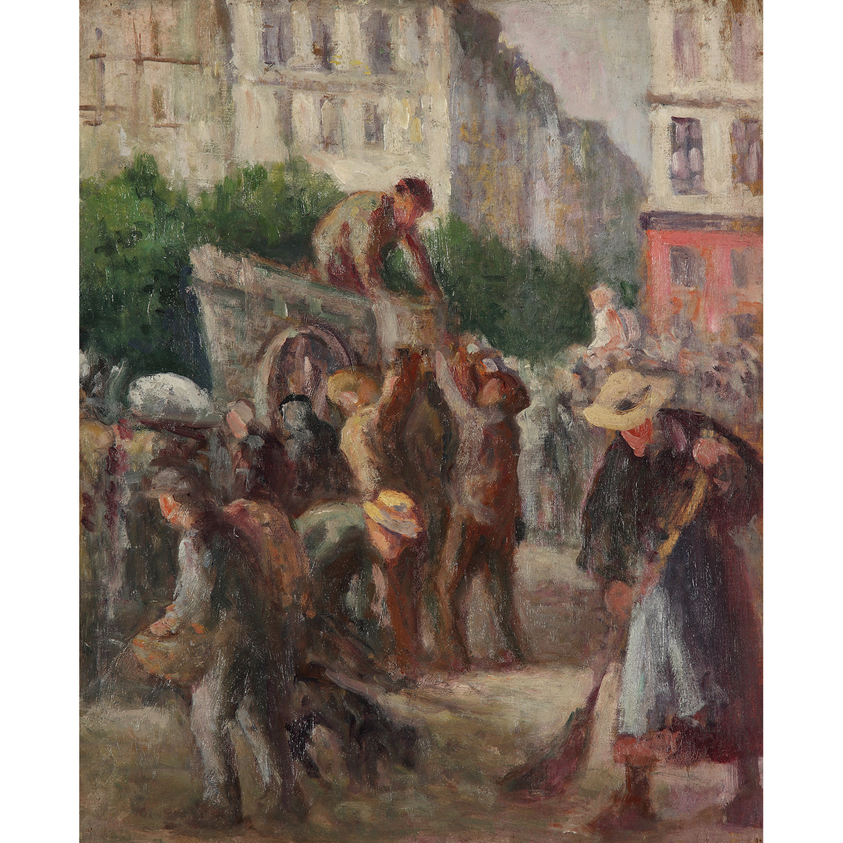 Maximilien Luce-Etude De Baigneurs, Vers-1908