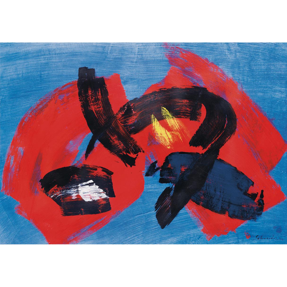 Gerard Schneider-Sans Titre-1974