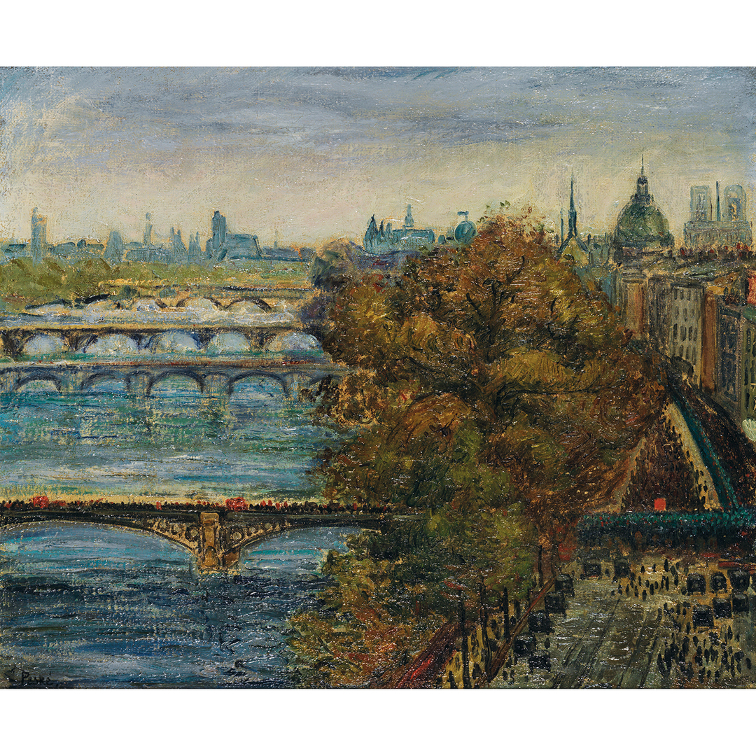 Jean Misceslas Peske-Vue De Paris-