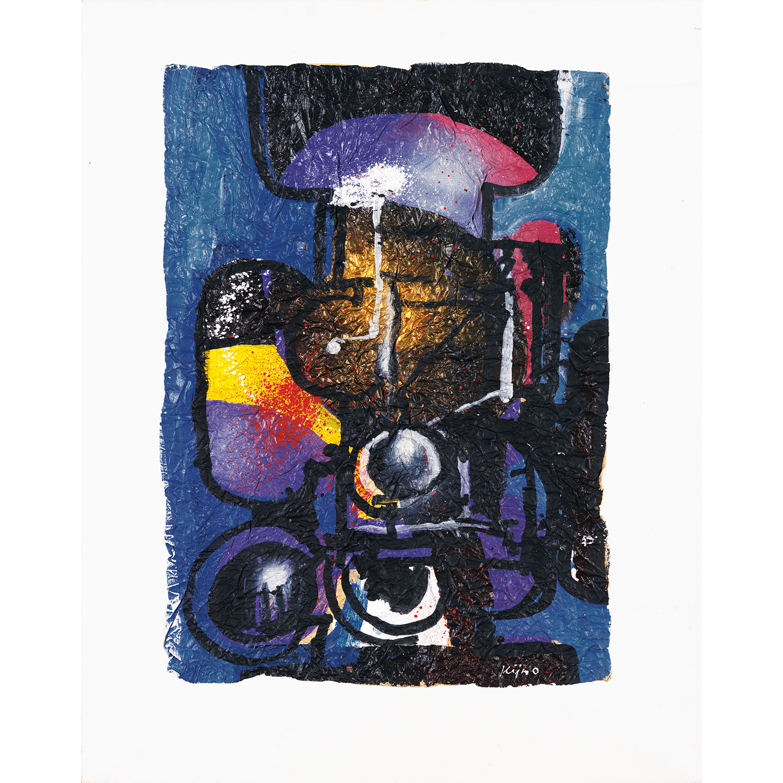Ladislas Kijno-Hommage A Rimbaud-1987