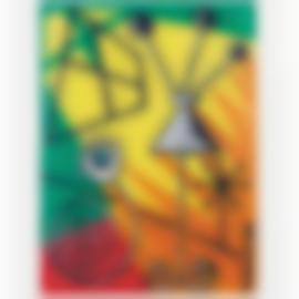 Herve Di Rosa-Statique Et Gueridon-1989