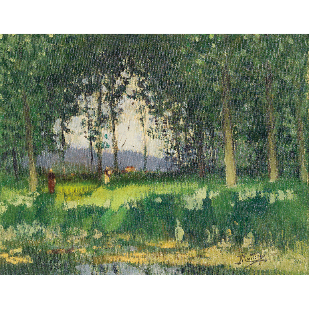 Pierre Eugene Montezin-Sous Bois-1935