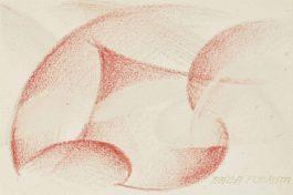 Giacomo Balla-Linee di velocita-1916