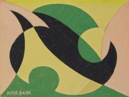 Giacomo Balla-Linea di compenetrazione-1916