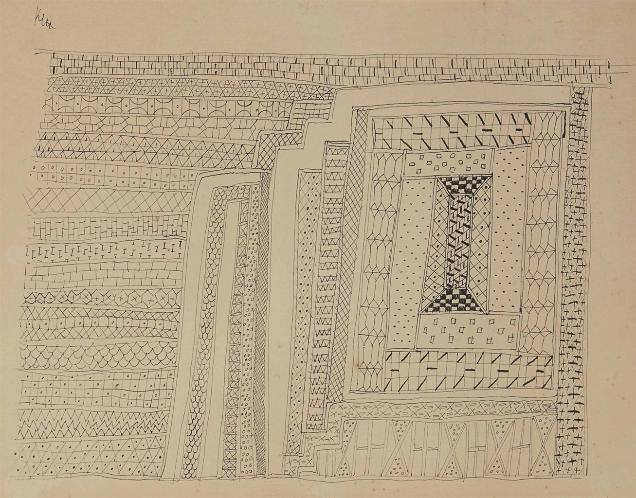 Paul Klee-Teppich-1927