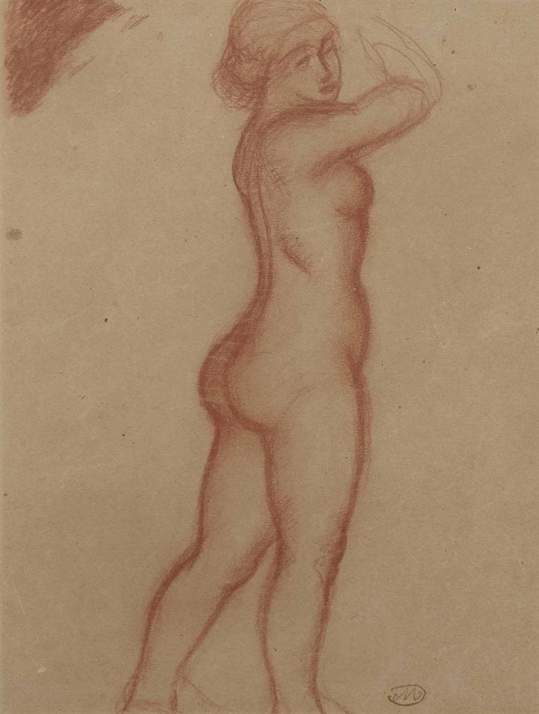 Aristide Maillol-Femme nue debout-1930