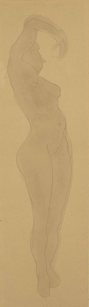 Auguste Rodin-Nu feminin-1900