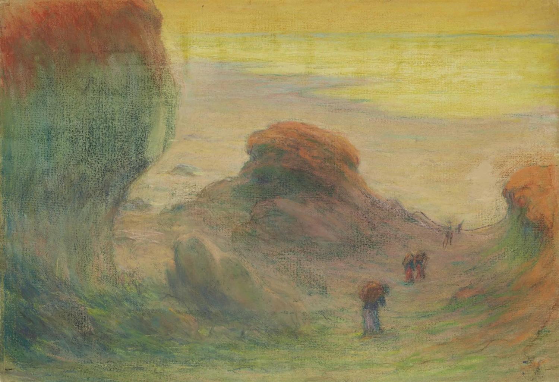 Emile Schuffenecker-Hymne au soleil (ramasseuses de Varech)-