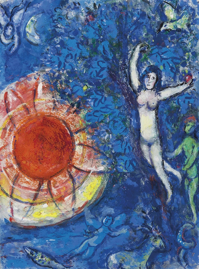 Marc Chagall-Autour de la creation-1960