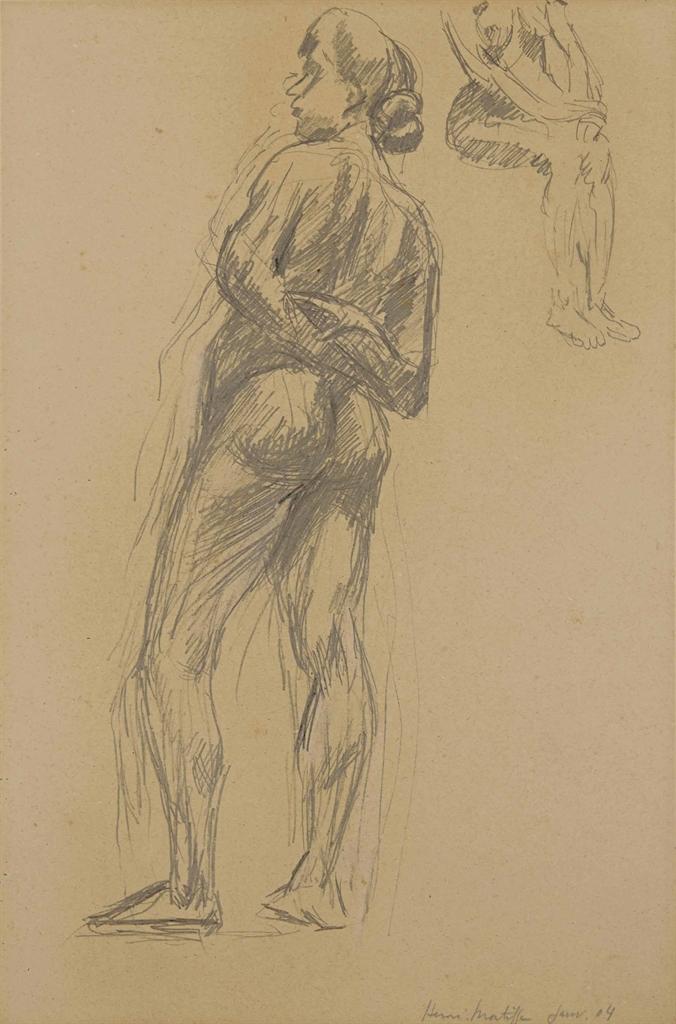 Henri Matisse-Nu debout-1904