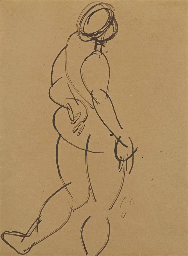 Fernand Leger-Femme nue-1911