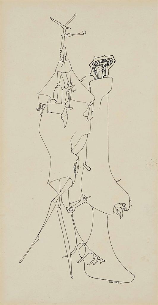 Yves Tanguy-Sans titre-1947