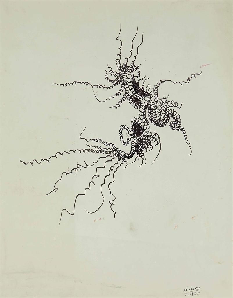 Bernard Requichot-Sans titre-1957