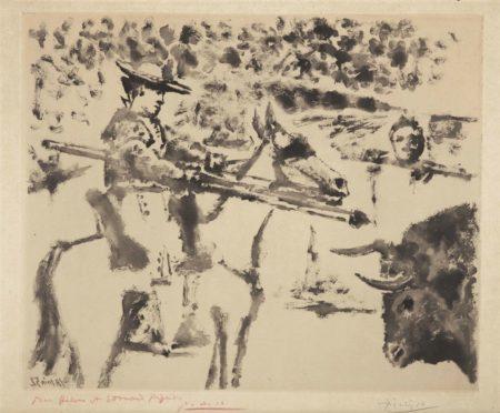 Pablo Picasso-Le Picador-1952