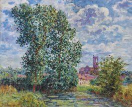 Francis Picabia-Effet de soleil par temps d'orage, Larchant-1908