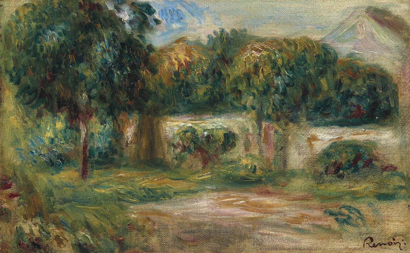 Pierre-Auguste Renoir-Paysage-1913