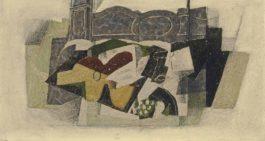 Georges Braque-Nature morte a la guitare-1920