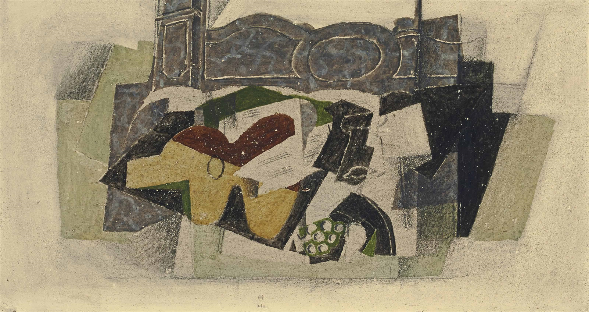 Georges Braque-Nature morte a la guitare-1920