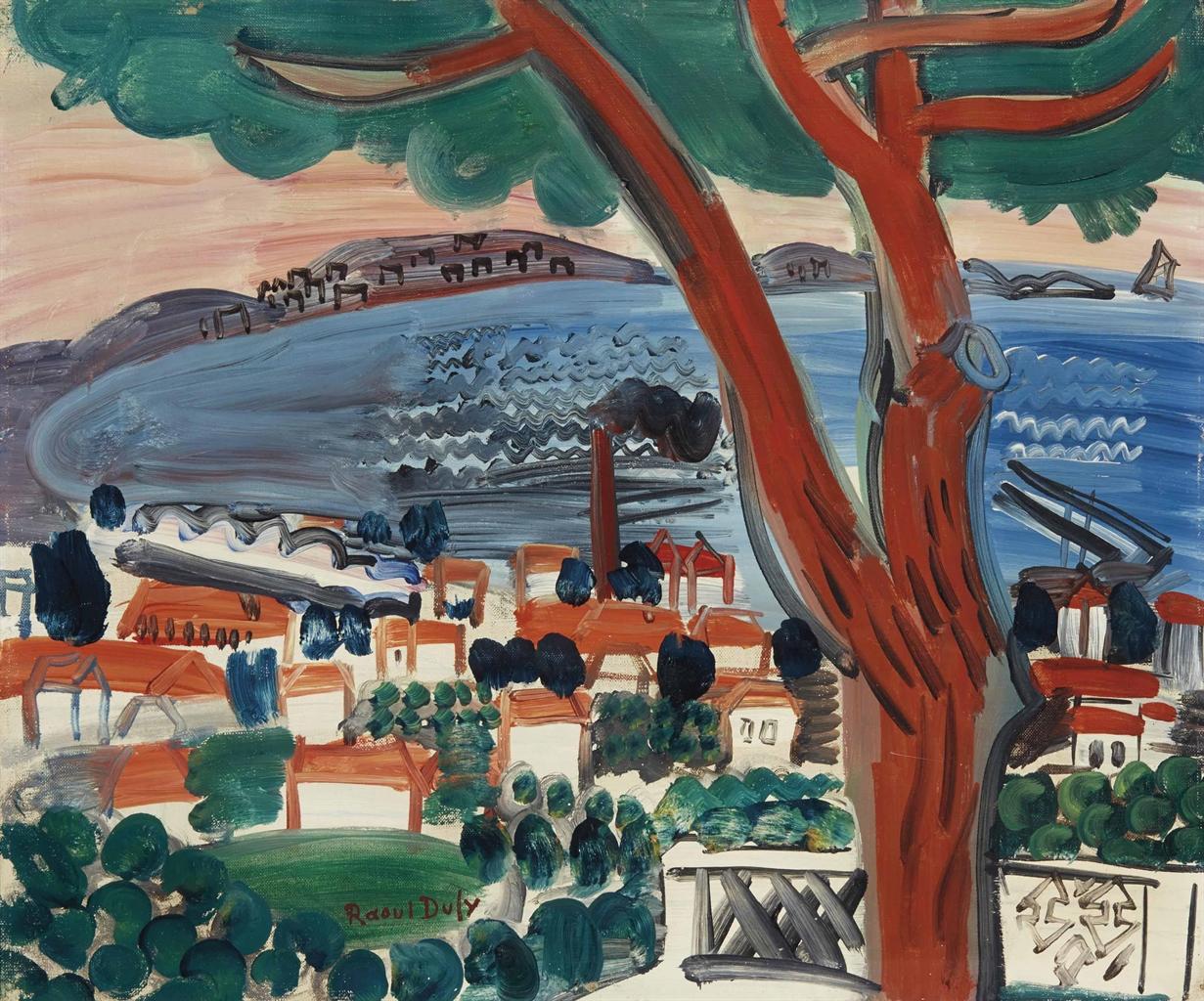 Raoul Dufy-Pin a Golfe Juan-1926