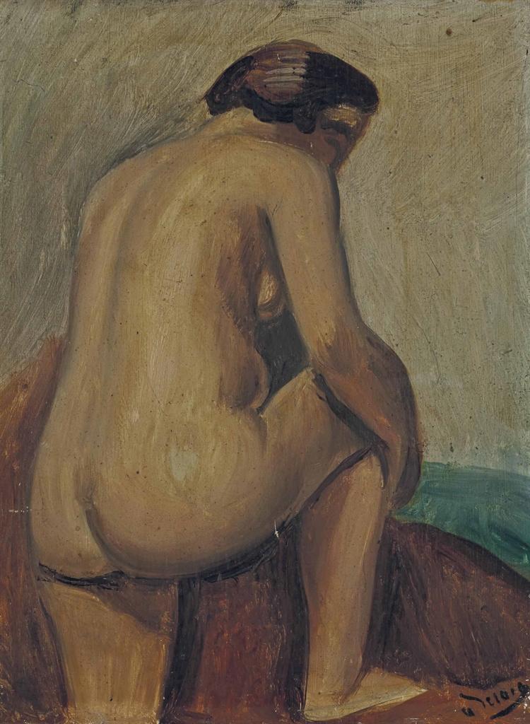 Andre Derain-Nu de dos-1925