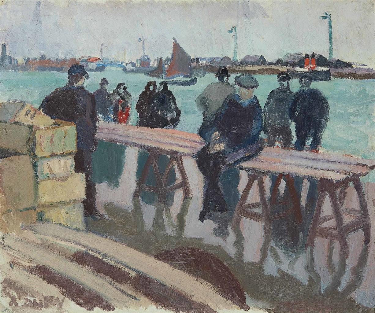 Raoul Dufy-Les pecheurs-1905