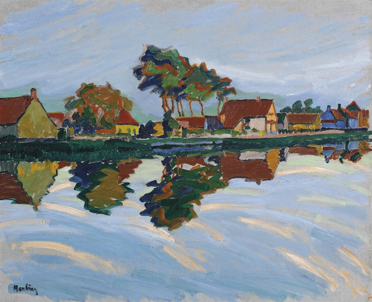 Auguste Herbin-Paysage-1906