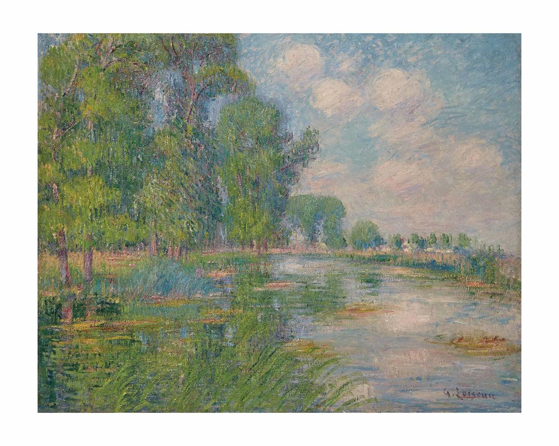 Gustave Loiseau-Bords de l'Eure-1917