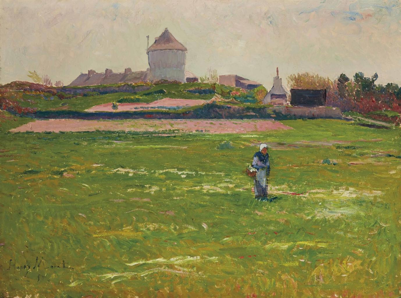 Henry Moret-Le manoir-1891