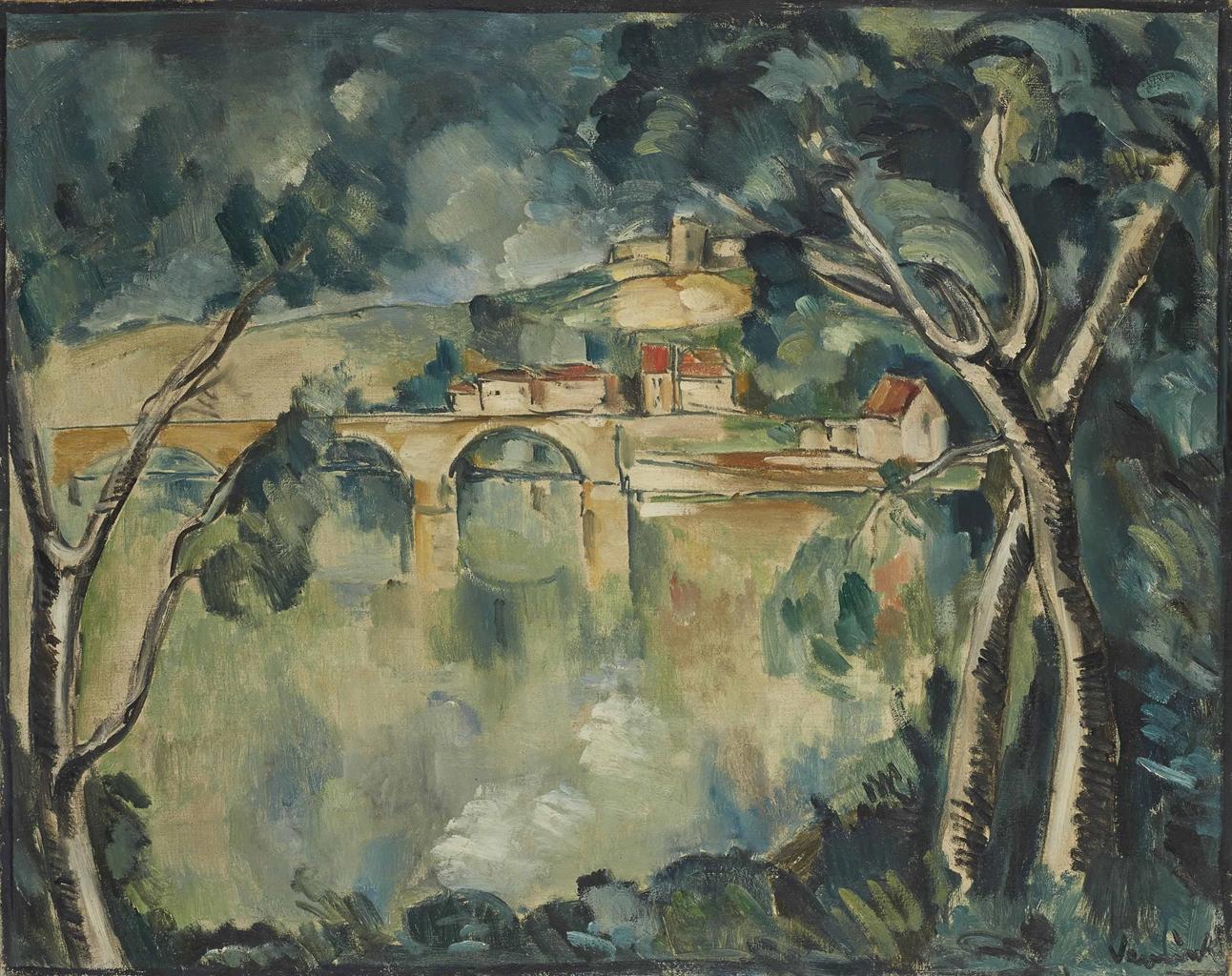 Maurice de Vlaminck-La Seine aux Andelys-1912