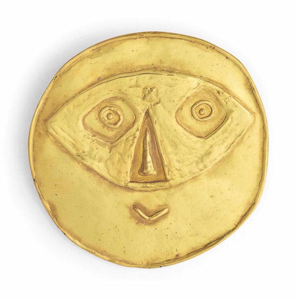 Pablo Picasso-After Pablo Picasso - Visage au masque-1956