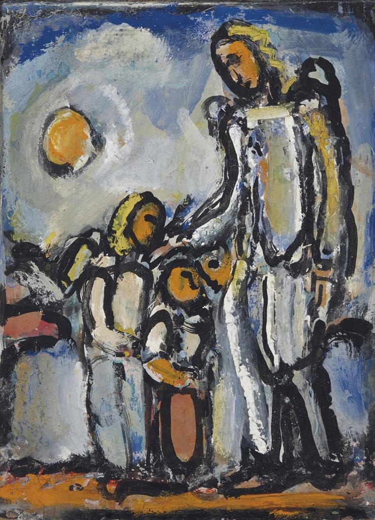 Georges Rouault-L'ange gardien-1946