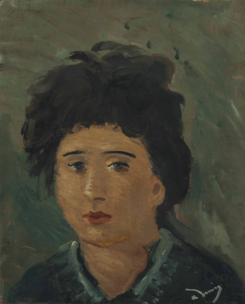 Andre Derain-Portrait de femme-1939
