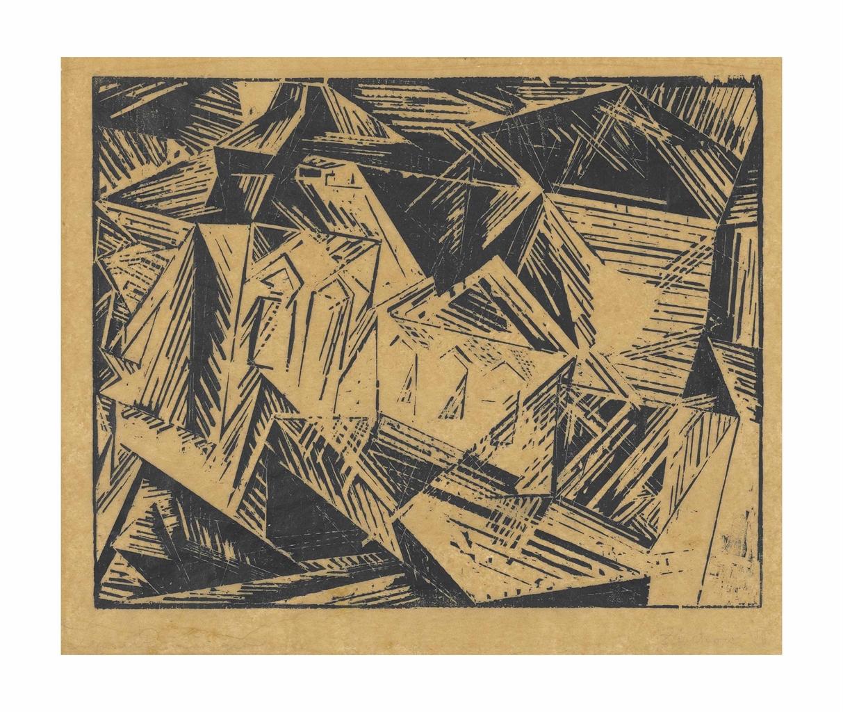 Lyonel Feininger-Zirchow VII, No. 1-1918