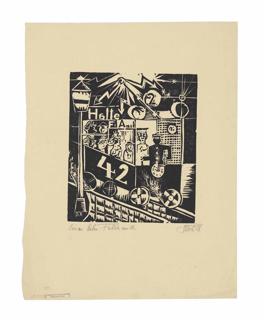 Otto Dix-Elektrische-1920
